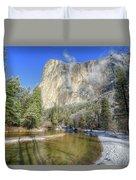 The Majestic El Capitan Yosemite National Park Duvet Cover