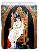 The Majestic Joan Collins D B E Duvet Cover