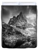 The Majesty Of Mountains Duvet Cover