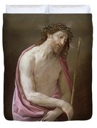 The Man Of Sorrows Duvet Cover
