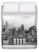 The Manhattan Skyline Duvet Cover