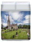 The Marble Church Duvet Cover