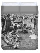 The March On Washington   At Washington Monument Grounds Duvet Cover