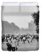 The March On Washington  Heading Home Duvet Cover