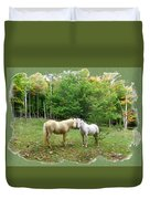 The Mares Watch Duvet Cover