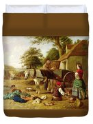 The Market Cart Duvet Cover