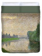 The Marne At Dawn Duvet Cover