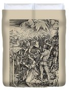 The Martyrdom Of St. Catherine Of Alexandria Duvet Cover