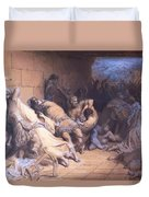 The Martyrdom Of The Holy Innocents 1868 Duvet Cover