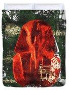 The Mask Of Tutankhamun Duvet Cover
