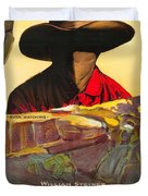 The Masked Rider 1919 Duvet Cover