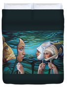 The Masqueradeum Duvet Cover