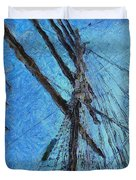 The Mast And The Wind Duvet Cover