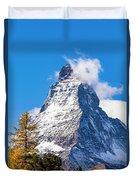 The Matterhorn Mountain Duvet Cover