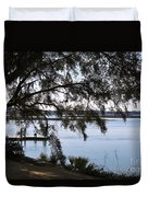 The May River In Bluffton Duvet Cover