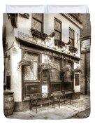The Mayflower Pub London Vintage Duvet Cover