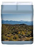 The Mcdowell Mountains Duvet Cover