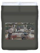 The Meal In The House Of The Pharisee Duvet Cover