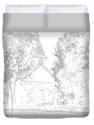 The Meeting House Duvet Cover