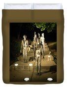 The Memorial To The Victims Of Communism Duvet Cover