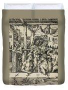 The Men's Bath Duvet Cover