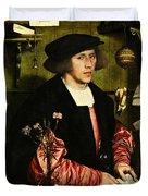 The Merchant Georg Gisze 1532 Duvet Cover