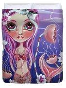 The Mermaid's Garden Duvet Cover