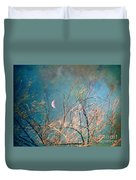 The Messy House Of The Moon Duvet Cover