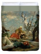 The Midday Rest Sailors Yarning Duvet Cover