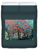 The Mighty Immortelle Duvet Cover