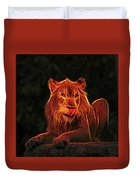 The Mighty Lion Duvet Cover