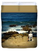 The Mighty Pacific Grab A Chair And Watch The Show Three Duvet Cover