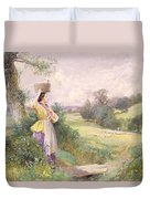 The Milkmaid Duvet Cover