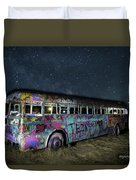 The Milky Way Bus Duvet Cover