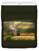 The Mill On The Marsh Duvet Cover