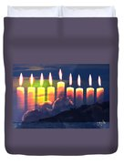 The Miracle Of Lights Duvet Cover