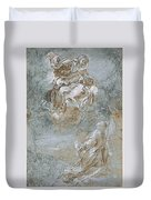 The Miracle Of The Sacred Belt Duvet Cover