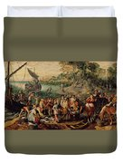 The Miraculous Draught Of Fishes Duvet Cover