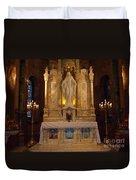 The Miraculous Medal Shrine 2 Duvet Cover