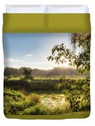 The Mists Of The Morning Duvet Cover