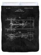 The Model T Patent Duvet Cover