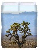 The Mojave Desert Duvet Cover