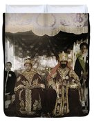 The Monarchs Haile Selassie The First Duvet Cover