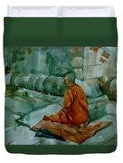 The Monk Duvet Cover