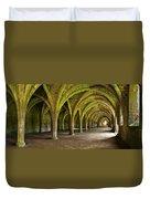 The Monks Cellarium, Fountains Abbey.  Duvet Cover
