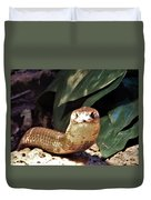 The Monocled Cobra Duvet Cover