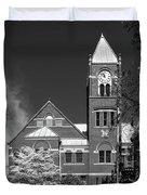 The Monongalia County Courthouse - Morgantown West Virginia Duvet Cover