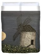 The Moon And The Windmill Duvet Cover