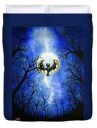 the moon of Lunala Duvet Cover