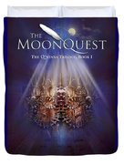 The Moonquest Book Cover Duvet Cover